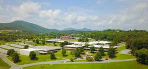 aerial shot of erwin high school